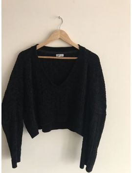 Urban Outfitters Jumper Size Medium Cropped Cable Knit by Ebay Seller