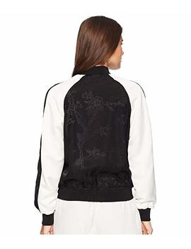 Two Tone Bomber Jacket by Lauren Ralph Lauren