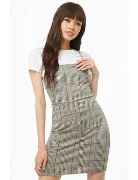 Glen Plaid Mini Dress by Forever 21