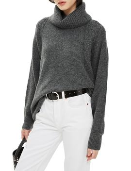 Turtleneck Sweater by Topshop
