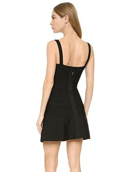 Crisscross A Line Dress by Herve Leger