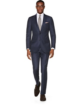Sienna Blue Stripe Suit by Suitsupply