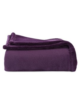 """Throw Blankets Solid Purple (50""""X60"""")   Better Living by Better Living"""