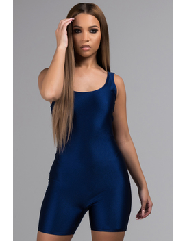 Stay In Your Lane Romper by Akira