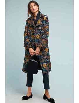 Chrissy Tapestry Trench Coat by Vilagallo