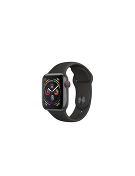 Apple Watch   Aluminiumboett I Rymdgrått Med Sportband I Svart by Apple