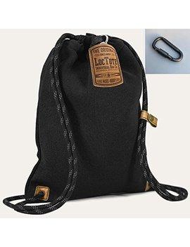 Loctote Flak Sack Ii Black   Die Schnittfeste Diebstahlsichere Tasche (Security Bag   Safety Bag) by Amazon