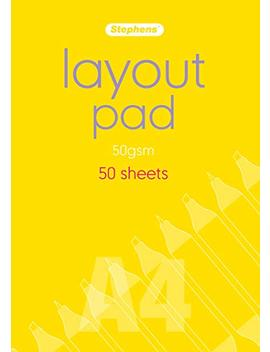 Stephens A4 Layout Pad by Stephens