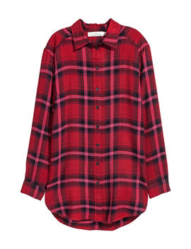 Lång Flanellskjorta by H&M