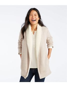Sherpa Lined Cozy Cardigan by L.L.Bean