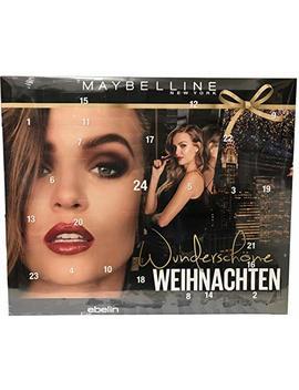 Maybelline   Adventskalender 2018   Advent Calendar   Wunderschöne Weihnachten   Beauty   Kosmetik   Limitiert by Amazon
