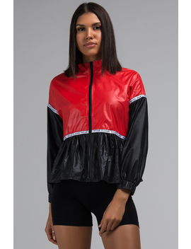Yacht Club Color Blocked Windbreaker by Akira
