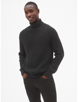 Ribbed Turtleneck Pullover Sweater by Gap