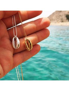 Vintage Fashion Silver Alloy Conch Gold Shell Necklace For Women Shape Pendant Simple Seashell Ocean Beach Boho Bohemian Jewelry by Ali Express