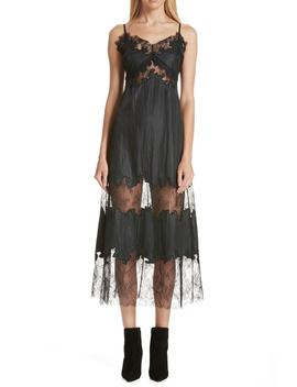 Lace Midi Slipdress by Robert Rodriguez