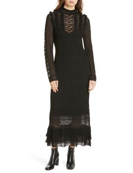 Pointelle Lace Midi Dress by Polo Ralph Lauren