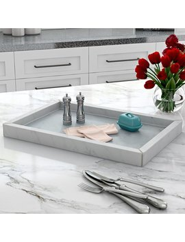 Wrought Studio Forde Marble Accent Tray & Reviews by Wrought Studio