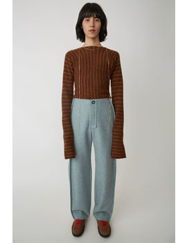 Wool Trousers Sky Blue by Acne Studios