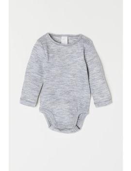 Wool Bodysuit by H&M
