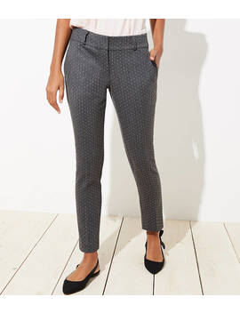 Skinny Pindot Pants In Julie Fit by Loft