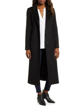 Modern Loro Piana Wool Reefer Coat by Fleurette
