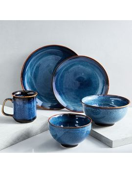 Ocean Waves Dinnerware Set by West Elm