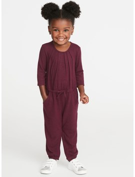 Cozy Long Romper For Toddler Girls by Old Navy