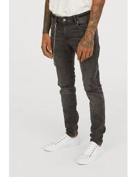 Slim Jeans с верижка by H&M