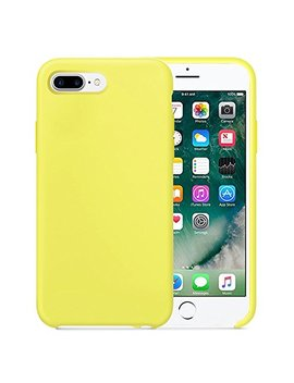 Case For I Phone 7 Plus Case Clear Liquid Silicone Phone Case With Microfiber Cloth Case by Giyer