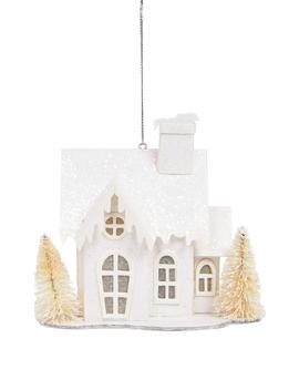 Led House Ornament by Melrose Gifts