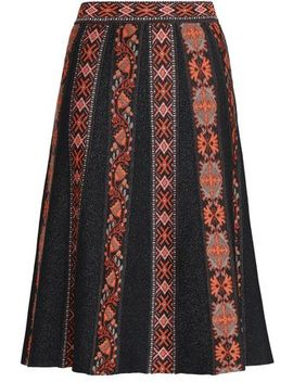 Jacquard Knit Skirt by M Missoni