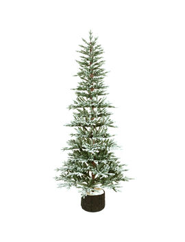 D22 7.5ft Unlit Vouvant Organic Christmas Tree by At Home