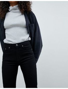 Weekday Seattle Mom Jeans In Organic Cotton by Weekday