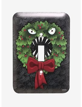 The Nightmare Before Christmas Wreath Light Switch Plate by Hot Topic