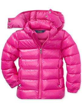 Little Girls Down Jacket by Polo Ralph Lauren
