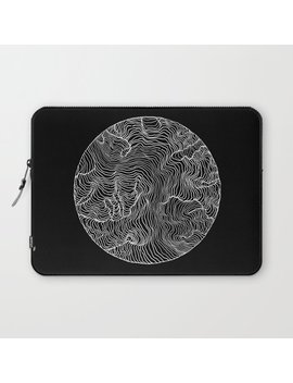 Black Riptide Laptop Sleeve by