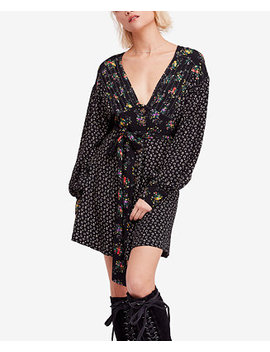 Wonderland Printed Mini Dress by Free People