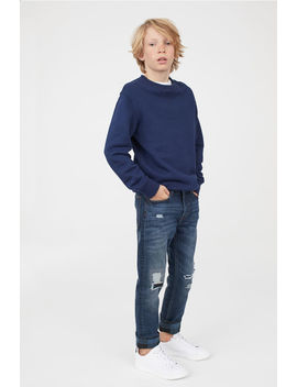 Skinny Fit Lined Jeans by H&M
