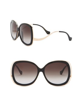 61mm Oversized Sunglasses by Balenciaga
