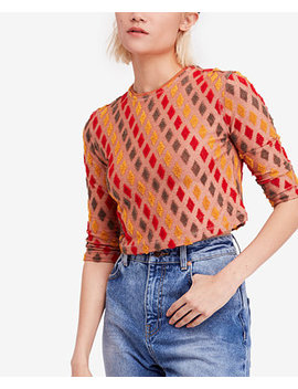 Embroidered Crop Top by Free People
