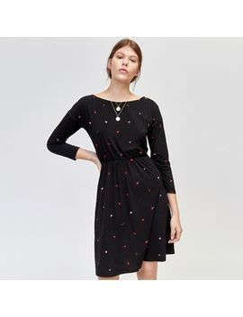 Warehouse   Scattered Heart Print Dress by Warehouse
