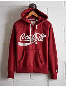 Tailgate Women's Coca Cola Fleece Hoodie by American Eagle Outfitters