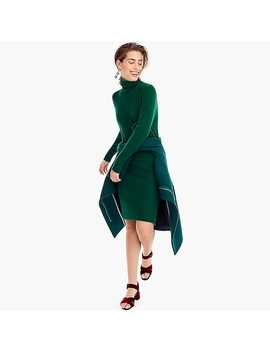 Turtleneck Dress In Supersoft Yarn by J.Crew