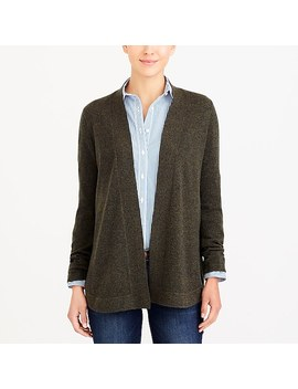 Cashmere Open Front Sweater by J.Crew