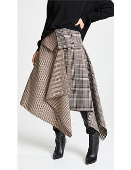 Blanket Wrap Skirt by Monse