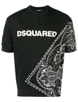 T Shirt Mit Print by Dsquared2