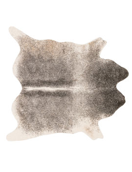 B289 Grey And Ivory Cowhide Rug  6x8 Ft. by At Home