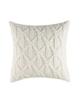 Clearview Lattice Knit Accent Pillow by Nautica