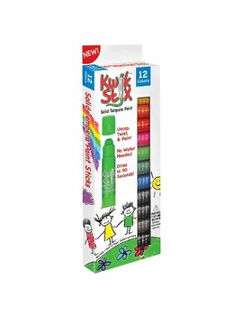 Kwik Stix® Tempera Painting Kit   12 Classic Colors by Kwik Stix