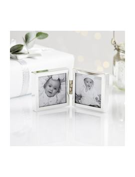 Fine Mini Hinged Picture Frame by The White Company